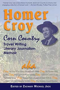 Homer Croy Corn Country Zachary Jack edtior Ice Cube Press
